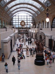 "Cavernous Interior and film set for ""A Very Long Engagement"" and ""Hugo"": Musee d'Orsay"