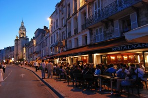 Aaah... La Rochelle! The town has a fantastic range of great restaurants, particularly around the Vieux Port area.