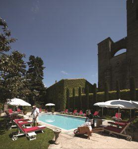 Wish you were here? The swimming pool at the Hôtel de la Cité
