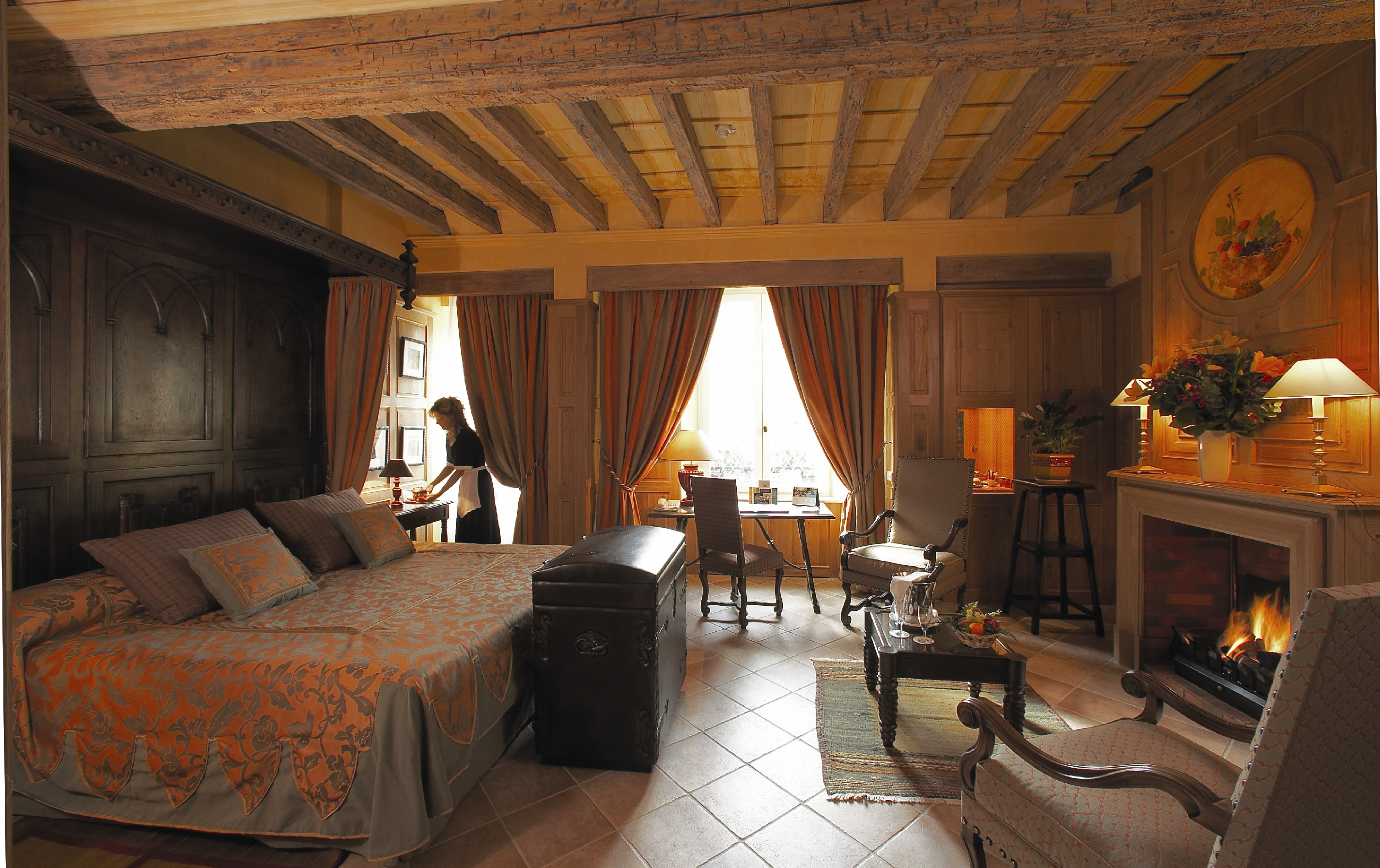 Top 10 romantic vacation castles around europe top inspired for Hotels carcassonne