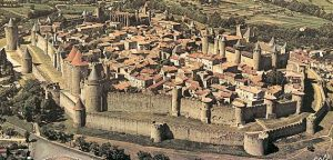 Walled Perfection: Carcassonne from the air.