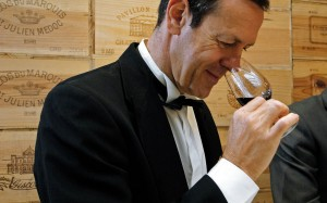 Mmmm... expensive wine! Chief Sommelier Patrice Frank shows how to appreciate a fine Bordeaux