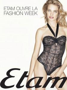 Muse Model: Natalia Vodianova graces the promotional poster for the Etam Fashion Show