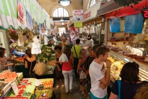 Les Halles, Menton: full of the warm colours and flavours of the Med.