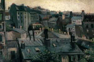 Landscape of zinc and slate: Van Gogh's 'Vue de Paris' from 1886