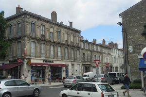 Taller corners - some of Rochefort's streetscape