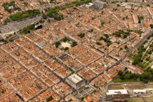 Grid-patterned and gorgeous from above: Rochefort from the air