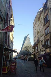 Looking Towards the Place du Vieux Marché.