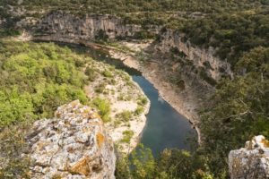 The Ardèche is famous for its deep gorges and stunning countryside