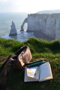 Feel like you're in a painting? The stunning cliffs at Etretat
