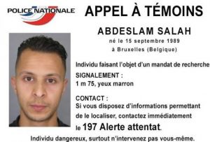 "The wanted notice of 21-year-old Brussels-born Abdeslam Salah urges people not to approach the ""dangerous individual"""