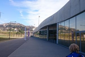 Sporting Centre: the entrance to the National Sport Museum