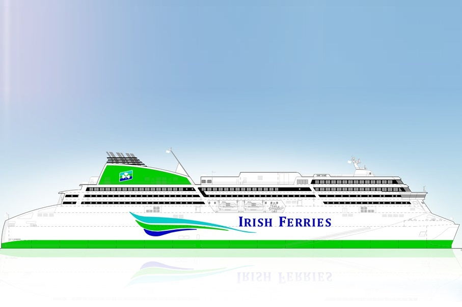 Irish Ferries to Have New Cruise Ferry for 2018 Season