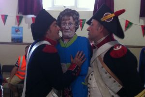 Mrs Brown meets some lusty French liberators