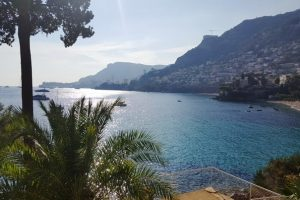 Looking from Roquebrune across to Monaco; beautiful but just 5.8/10 for this region