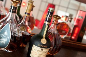 Cognac - a product that has played a major role in Caroline's professional life in France.